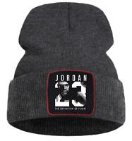Winter Hat Jordan 23 Adjustable Cap Beanie Greatest Basketball Air Jumpman
