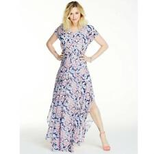 BNWT Fearne Cotton Printed Floaty Evening Occasion Maxi Dress Size 12 NEW