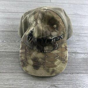 KRYPTEK CAMO ADJUSTABLE TRUCKER STRAP BACK HAT One Size Fits Most (Shelf)