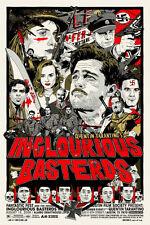 Tyler Stout Inglourious Basterds Mondo Print Poster Inglorious Bastards Movie