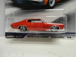 Hot Wheels 1970 Chevy CHEVELLE SS Red '70 w/RR FAST & FURIOUS #1/5