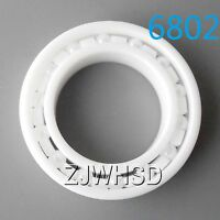 6802 Full Ceramic Zirconia Oxide Bearing ZrO2 15 x 24 x 5mm Self-lubricatin​g