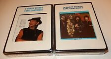 Lot of 2 8 Track Tapes  Willie Nelson Me & Paul Oak Ridge Boys American Made NEW