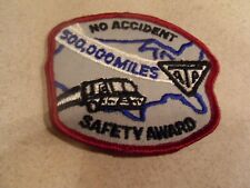 ATA NO ACCIDENT 500,000 MILES SAFETY AWARD DRIVER PATCH