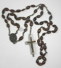 Rosary Spina Cristi Relic Reliquary Crucifix Earth Catacombs Rome Italy