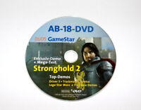 2005 Gamestar DVD Demo Stronghold 2 Driver 3 Trackmania Sunrise Leo Star Wars