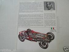 PROTAR FIAT 806 406/S 1927 F1 CAR BORDINO AND YAMAHA OW34 750 CC AGO, CECOTTO MA