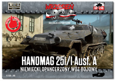 SD.KFZ 251/1 AUSF.A ARMOURED CARRIER (WEHRMACHT MKGS)#40 1/72 FIRST TO FIGHT