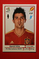 Panini EURO 2012 N. 304 ESPANA VILLA  NEW With BLACK BACK TOPMINT!!