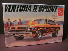 AMT 1972 Pontiac Ventura II Sprint 1/25 Scale Model Kit, T379 - Sealed Inside!