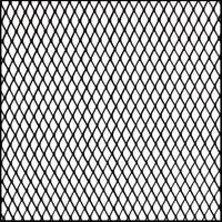 Aluminio Rejilla de malla Rejilla de ventilación Vent Tuning Grill Negro /