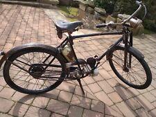 Motorrad, Fahrrad mit Motor Puch-Styriette 1938