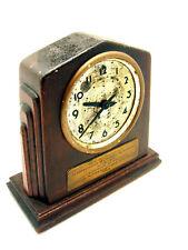 Vintage 1942 Seth Thomas GMAC General Motors Appreciation Mantle Clock Repair