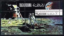 Ras Al Khaima US Space Apollo 11 Souvenir Sheet 1969