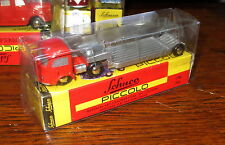 Schuco Piccolo 01291 Piccolo Mercedes Benz MB Tieflader rot _ TOP ___ H994