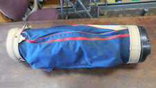 Vintage Jasper,Alabama Burton Leather & Canvas Golf Bag American Made--no cover