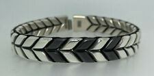 Chevron Woven Bracelet David Yurman Men's