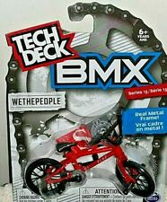 TECH DECK BMX 2020 SERIES 13 RED WETHEPEOPLE W/REAL METAL FRAME FINGER BIKE NEW!