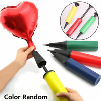 1Pc Balloon Handheld Air Pump Action Plastic Inflator for Party Balloon Tool