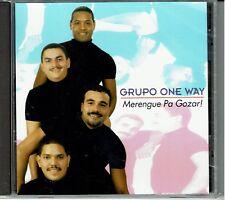 Grupo One Way Merengue Pa Gozar     BRAND  NEW SEALED  CD