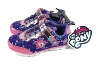 My Little Pony Light-Up Girl's Purple Shoes Sneakers Size 12