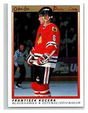 (HCW) 1990-91 OPC Premier #53 Frantisek Kucera Blackhawks Mint