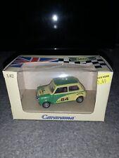Cararama Mini Cooper Series 142D 1/43 1:43 Hongwell Green Yellow New