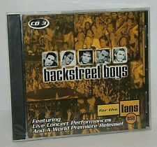 Backstreet Boys for the Fans CD 3 Live Concert Performances Music CD NEW