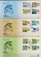 Ascension Island 2008 Animals & Eggs Definitive set on x 3  FDC`s Per Scan