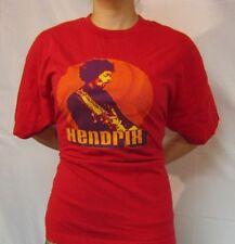 Jimi Hendrix Authentic Hendrix Red 2001 Zion Xl T-Shirt Hypnotic Spiral Image