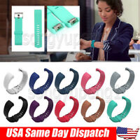 FOR Fitbit CHARGE 2 Replacement Silicone Band Strap Wristband Small Large USA