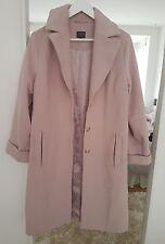 M&S Dusty Pink Coat size 10