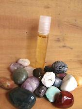 245-Roll on Huile magique de pierres moqui-Protection-Communication-Meditation