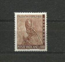 Vatican 1966 Works 180 Lira MNH Vaticano