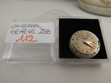112 - Movimento Universal geneve 258 running con dial sold for parts or repair