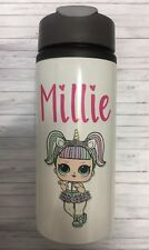 Lol Unicorn Personalised Water Bottle Drinks Stainless Steel Bottle