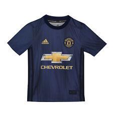 Offiziell Manchester United Third Shirt Fußball Trikot Top 2018/19 Kinder adidas
