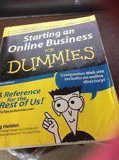 Starting an  online Business For Dummies (Paperback), Greg Holden