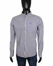 *Superdry Mens Shirt Tailored Checks Grey size M