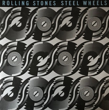 THE ROLLING STONES - Steel Wheels (LP) (EX-/EX-) (1st Pressing)