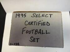 1995 Select Certified Football Set
