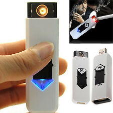 USB Electric Battery Rechargeable Flameless Collectible Lighter Cigarettes NT