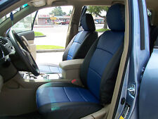 VW TIGUAN 2009-2014 IGGEE S.LEATHER CUSTOM FIT SEAT COVER 13 COLORS AVAILABLE