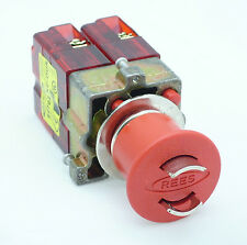 22102-312, Push Button Switch (22.5mm Operators - Maintained Lockable with Rees