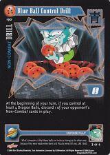 Blue Ball Control Drill Dragonball CCG Card DBGT