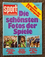 Sport Illustrierte: Die schönsten Fotos der Spiele, Olympiade 1972 in München