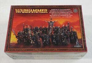 Warhammer Fantasy Warriors of Chaos Regiment Box Set / Sealed Games Workshop