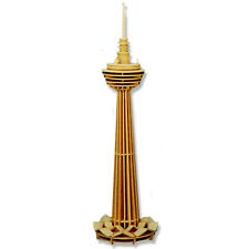 "3-D Wooden Puzzle - Kuala Lumpur Tower - Gift Item ""Brand New"""