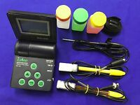 pH/ORP/Cond/TDS/Salt/Temp Meter #1 PORTABLE TOP Water QC Equip.(QC Hitech USA)
