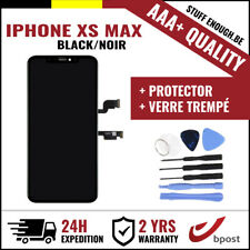 AAA+ LCD TOUCH SCREEN/SCHERM/ÉCRAN BLACK FOR IPHONE XS MAX & VERRE TREMPÉ+TOOLS